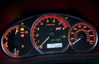 2008 Subaru Impreza WRX STI панель приборов