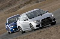 2008 Subaru Impreza WRX STI и 2008 Mitsubishi Lancer Evolution GSR