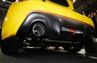 Subaru BRZ tS 2015 выхлоп