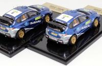 CM's Subaru Impreza WRC 2008 #5 Solberg & #6 Atkinson 1/43