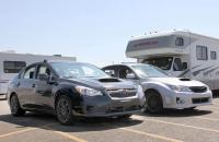 Шпионские фотографии мула Subaru WRX 2014