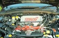 Subaru 2005 Forester STI двигатель