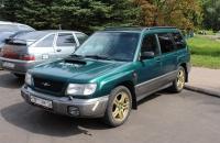 Subaru Forester S turbo SF5 Green