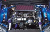 Impreza WRC 2007 S12b двигатель