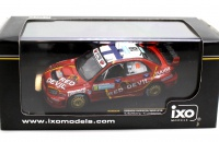 IXO RAM234 Subaru Impreza WRC Red Devil K.Lindstrom K.Solberg Rally Sweden 2006