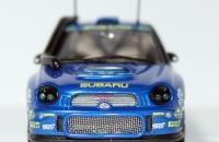 Ixo RAM049 Subaru Impreza WRC Rallye Safari 2001 Burns
