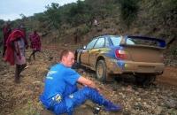 WRC 2001 Subaru Impreza Safari Burns