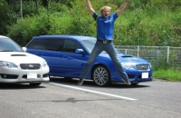 Subaru Legacy B4 tuned by STI Сольберг