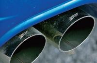 Subaru Legacy B4 tuned by STI выхлоп