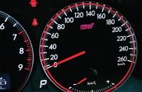 Subaru Legacy B4 tuned by STI спидометр 260 км/час