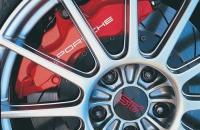 Subaru Impreza Litchfield Type 25 2007 тормоза Porsche