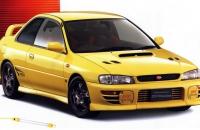 Subaru Impreza WRX Type R Sti 1997 GC8 Yellow
