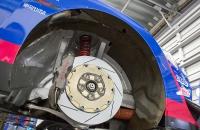 Subaru STI NBR Challenge 2017 передние тормоза brembo