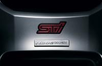 Subaru Impreza R205 табличка с порядковым номером
