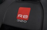 Subaru Impreza RB320 вышивка на кресле