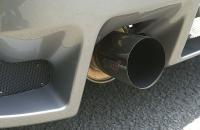 Subaru Impreza S201 выхлоп