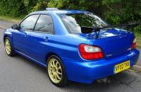 Subaru Impreza S202 STI version