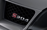 Subaru Impreza S204 шильдик