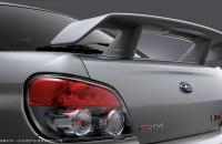 Subaru Impreza S204 спойлер