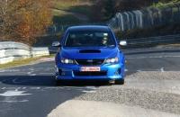 Subaru Impreza S206 Nurburgring test