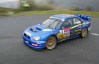 Subaru Impreza WRC Sarrazin Pivato French rally champion 2004