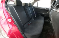 Mitsubishi Lancer Evo X задний диван