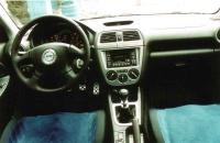 Subaru Impreza WRX STI Prodrive style салон