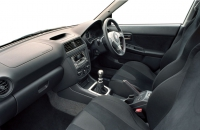 Subaru Impreza WRX STI WR1 салон