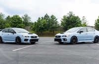 Subaru WRX и WRX STI Series.Gray