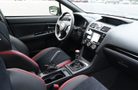 Subaru WRX Series.Gray салон