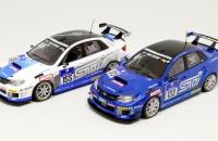 Subaru WRX STI Nurburgring 2011 №155 & 2012 №133