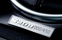 Subaru WRX STI S208 табличка с порядковым номером