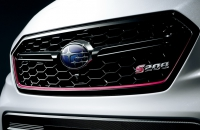 Subaru WRX STI S208 решетка радиатора