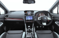 Subaru WRX STI S208 салон