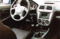 Subaru Impreza WRX 2001 салон