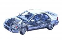 Subaru Impreza WRX 2001 рентген