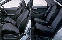Subaru Impreza WRX 2003 салон