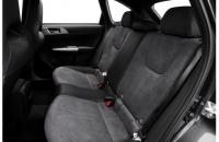 Subaru Impreza WRX STI 2008 задний диван