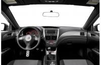 Subaru Impreza WRX STI 2008 передняя консоль
