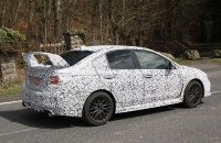 Subaru WRX STI 2014 шпионское фото spy photos