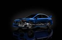 Subaru WRX STI 2014 рентген