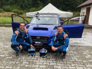 Марк Хиггинс и Subaru Type RA