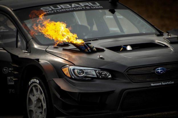 Subaru STI Gymkhana